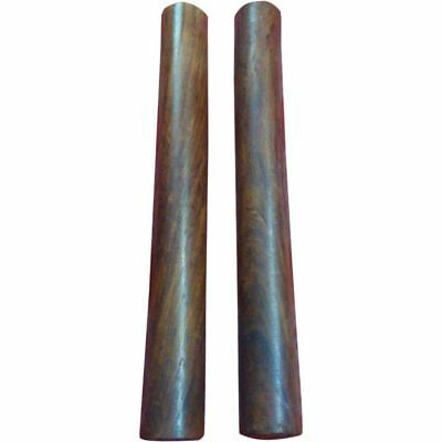 Sl Brand New Rose Wood Wooden Claves/wooden Rhythm Stick Percussion Instrument • 8.48£