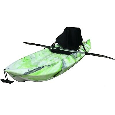AU230 • Buy 1.8M Kids Kayak Single Sit-on Touring With Backrest Seat Paddle Leash Green Lime