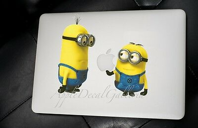 $9.99 • Buy Despicable Me Minion Decal Sticker Skin For Macbook Pro Air 11 13 15 17 In MN