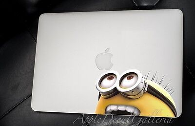 $9.99 • Buy Despicable Me Minion Decal Sticker Skin Decals For Macbook Pro Air 13 15 17 DT