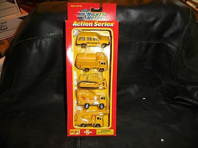 $ CDN30.19 • Buy Maisto Mighty Motors Action Series 5 Pack  Constructions  NIB