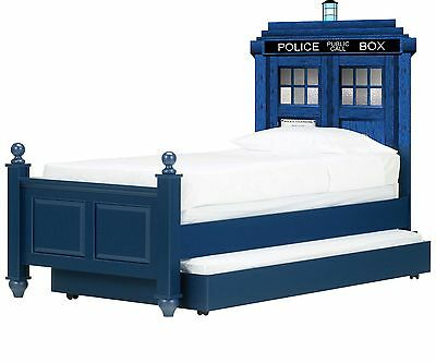 £35.76 • Buy Doctor Who Tardis Headboard Wall Vinyl Repositionable Decal Sticker Graphic-Gift