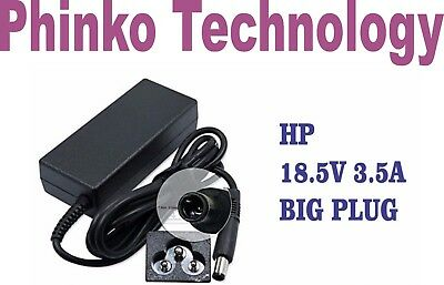 AU28 • Buy 18.5V 3.5A Charger HP EliteBook PC 2530p 2730p 6930p 8530p Power Cable PSU