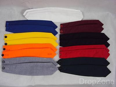 £4.99 • Buy Pair Of Plain Shoulder Button Down Epaulettes Assorted Colours Security Workwear