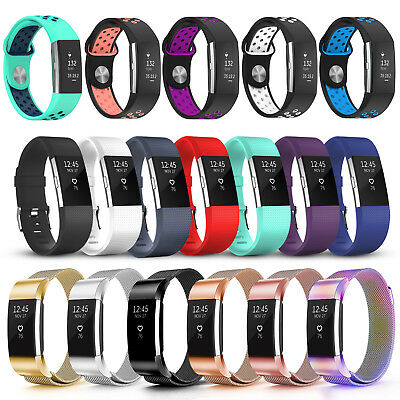 AU4.95 • Buy Various Luxe Band Replacement Wristband Watch Strap Bracelet For Fitbit Charge 2