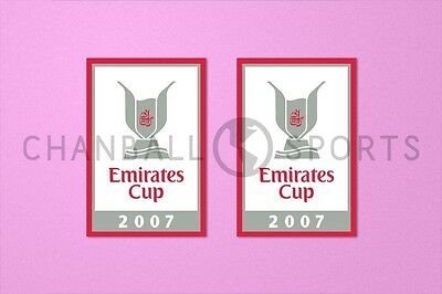 £11.99 • Buy Arsenal Emirates Cup 2007 Sleeve Soccer Patch / Badge