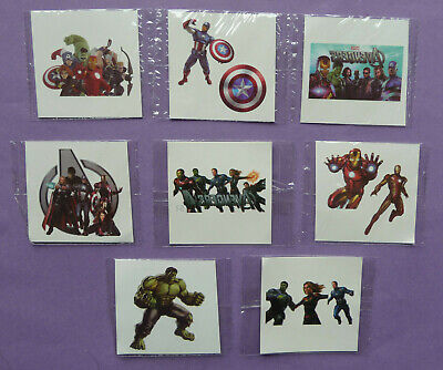 £3.65 • Buy Marvel Avengers Tattoo Temporary Party Bag Filler Choose Quantity