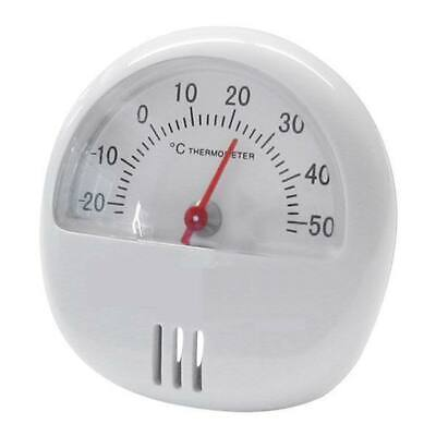 White Square Dial Thermometer & Hygrometer Indoor Outdoor Work Home Garage Stand • 2.99£