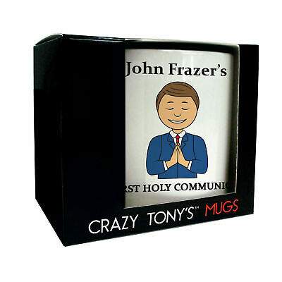 Boys First Holy Communion Gifts, Crazy Tony's, Boys First Holy Communion Mug • 11.94£