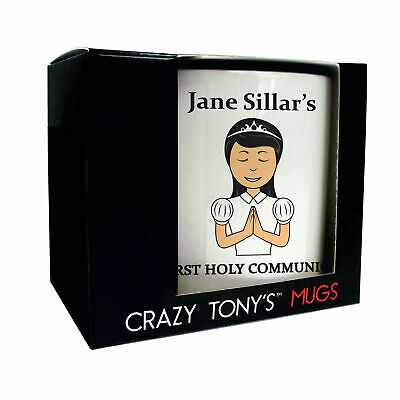 Daughters First Holy Communion Gift Ideas, Crazy Tony's, 1st Holy Communion Mug • 11.94£