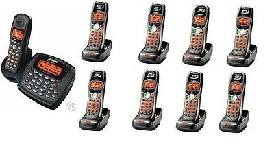 $ CDN434.99 • Buy Uniden 2 Line Cordless Intercom Paging Dual Conference Phone System W 9 Handsets
