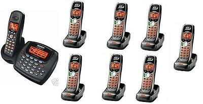 $ CDN395.45 • Buy Uniden 2 Line Cordless Intercom Paging Dual Conference Phone System W 8 Handsets