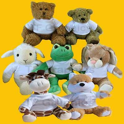 £9.99 • Buy Personalised Soft Cuddly Toys  - Teddy Bunny Frog Lamb Toy Soft Toy Animal Toy