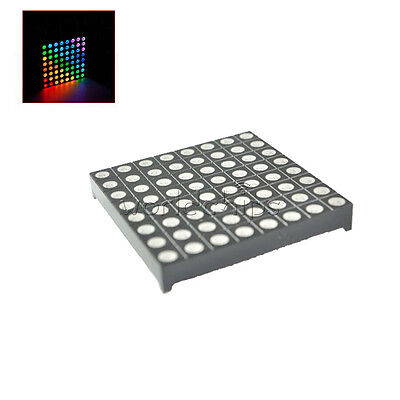 £2.33 • Buy 8x8 8*8 5mm Full Colour RGB Colorful LED Dot Matrix Display Module Common Anode