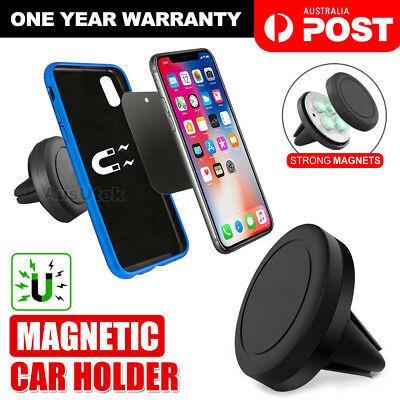 AU11.95 • Buy 2X Universal Magnetic Car Phone Holder Mount Stand IPhone 11 Pro Max Samsung S10