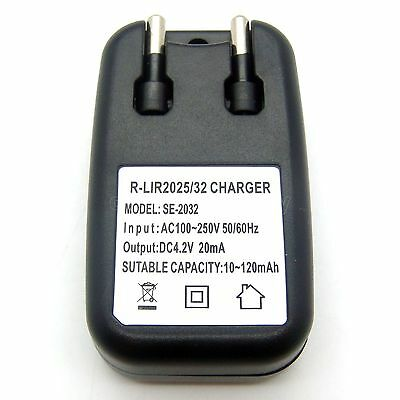 AU14.19 • Buy Charger For ML2032 ML2025 VL2032 VL2025 Rechargeable Battery Brand New