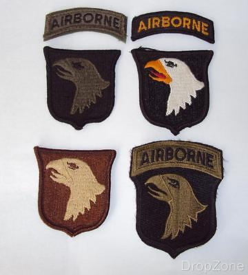 US Army 101st Airborne Division Cloth Sleeve / Arm Badge Patch Assorted • 3.99£