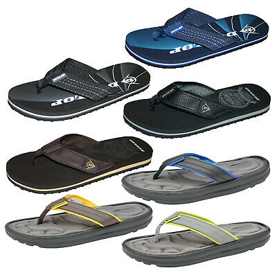 Mens Flip Flops Dunlop Lightweight EVA Sole Beach Summer Toe Post Thong Sandals • 16.98£