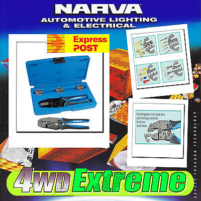 AU139 • Buy Narva Cable Crimping Tool Wire Crimper Battery Terminal 50a Anderson Plug 56513