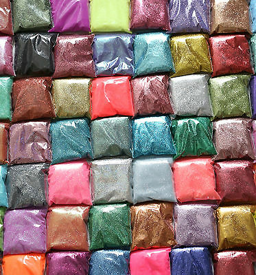 Glitter - BUY 5 GET 2 FREE     Bulk Pack Glass Covering Art Craft Ultra Fine Bag • 5.99£