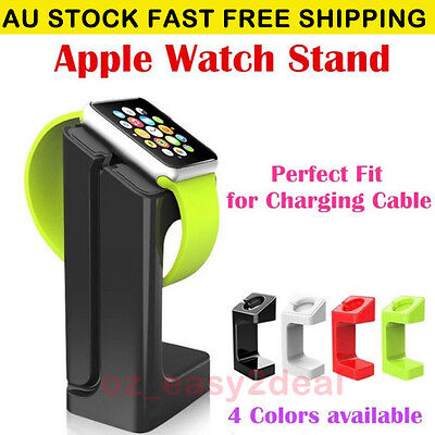 AU14.99 • Buy 2015 Charging Stand For Apple Watch Docking Station Holder For IWatch 38mm 42mm