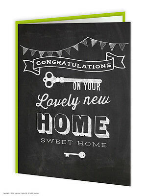 Brainbox Candy New Home Greeting Card Funny Novelty Humour Housewarming Blank • 1.25£