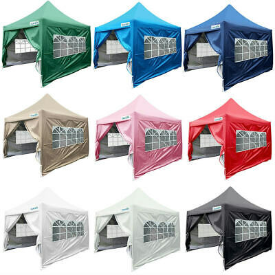$1119.99 • Buy Quictent 8'x 8' Waterproof EZ Pop Up Canopy Party Tent Gazebo 7 Colors Available