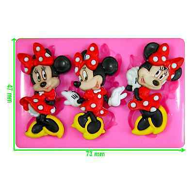Disney Minnie Mouse Silicone Mould By Fairie Blessings • 5.75£
