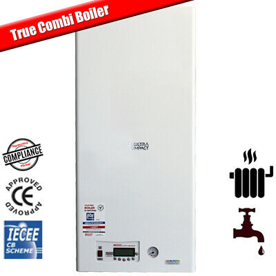 12kW Modulating Electric Combi Boiler For Flats - Central Heating & Hot Water  • 1,785£