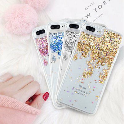 AU6.95 • Buy Sparkle Glitter Dynamic Liquid Quicksand Case Cover For IPhone 6s 7 8 Plus
