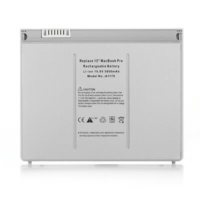 $24.39 • Buy 5800mAh A1175 Battery For Apple Macbook Pro 15  A1260 A1211 A1150 2007 Laptop
