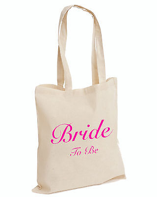 £3.25 • Buy Wedding Favour Tote Bags Keepsake Hen PARTY Bridal Novelty TOP (BRIDE TO BE,BAG)