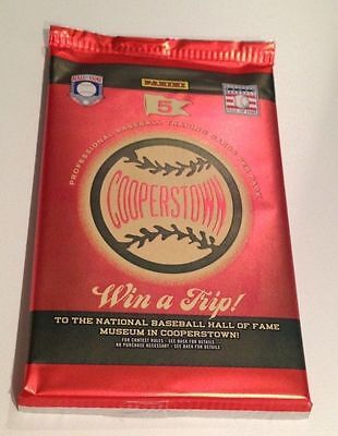 $5.95 • Buy 2012 Panini Cooperstown HOBBY Pack (Mickey Mantle DiMaggio Koufax Cut Auto 1/1)?