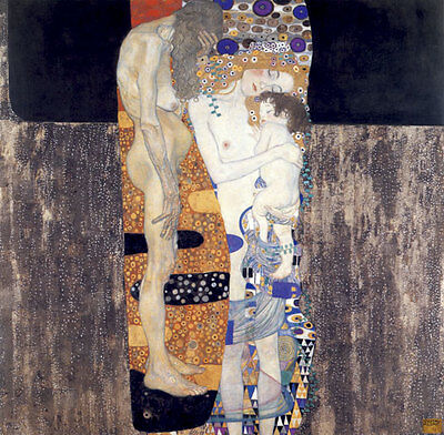 $ CDN108.22 • Buy Three Ages Of Woman 22x30 Art Deco Print By Gustav Klimt Hand Numbered Edition