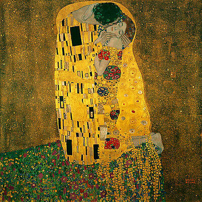 $ CDN102.65 • Buy The Kiss 22x30 Art Deco Print By Gustav Klimt Hand Numbered Edition