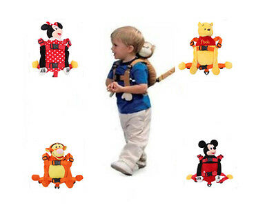 New Baby Toddler Safety Walking Reins Backpack Harness With Strap • 10.99£