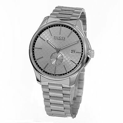 ba35d51b16b Gucci Men s Timeless Silver Dial Stainless Steel Swiss Automatic Watch  YA126320 • 1