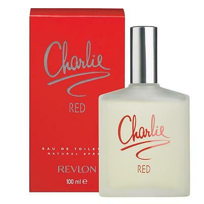 Charlie Red 100ml Eau De Toilette Spray Brand New & Boxed • 6.40£