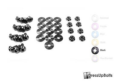 $148.49 • Buy Dress Up Bolts For 99-04 Ford Mustang GT & Cobra Black Titanium Engine Bay Kit