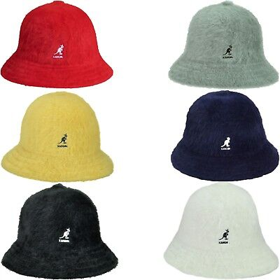 d7717825d39 Authentic Kangol Furgora Fur Casual Bucket Hat Cap K3017ST S-XL Black White  Red •