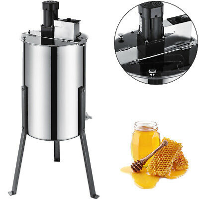 AU309.94 • Buy 2/4 Frame Electric Honey Extractor Stainless - Beekeeping Stainless Steel Spinne