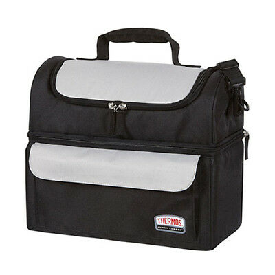 AU36.95 • Buy 100% Genuine! THERMOS Dual Insulated Compartments Lunch Lugger Bag Soft Sided!