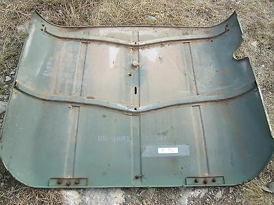 $75 • Buy Used Hood W/Hinges, For M151 Jeep C