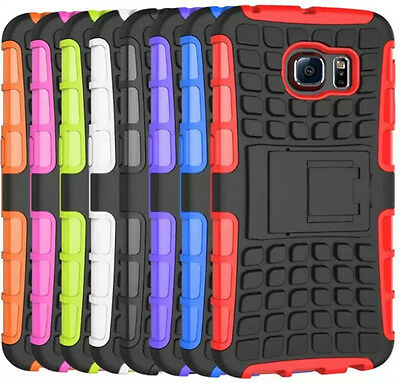 Shockproof Heavy Duty Tough With Stand Hard Case Cover For Samsung Galaxy Phones • 4.49£