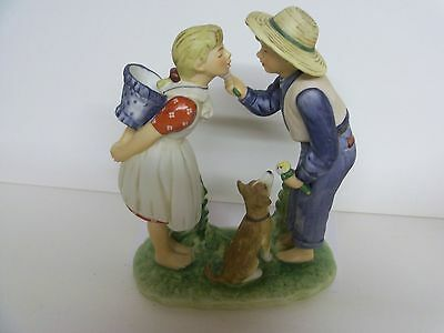 $ CDN72 • Buy Norman Rockwell  Beguiling Buttercup   GORHAM  Style RW19  Figurine