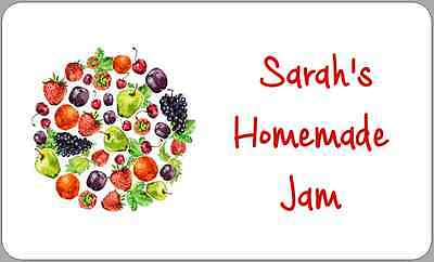 £2.50 • Buy Jam Pot Jar Stickers Personalised Multi-Use Sticky Labels For Homemade Preserves
