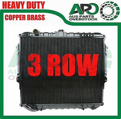 AU9999 • Buy Copper Brass 3 R Radiator For Mitsubishi Pajero NH NJ NL NK 3.5L V6 Petrol 83-00