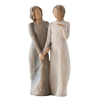 £45 • Buy New & Boxed Willow Tree Figurine  'My Sister My Friend' #27095