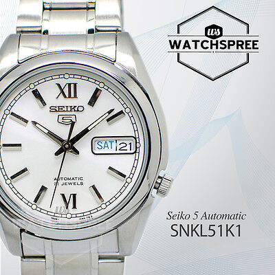 $ CDN116.91 • Buy Seiko 5 Automatic Watch SNKL51K1