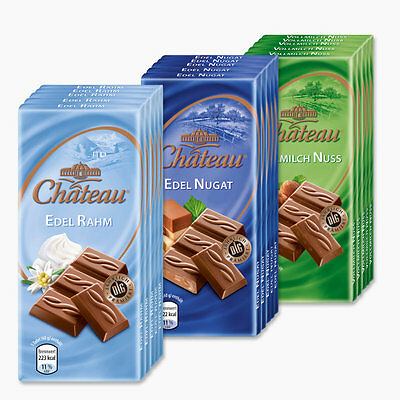 $ CDN18.08 • Buy 3 Different Taste CHATEAU Chocolate Mini 15 X 1.4 Oz.(40g) Bars NEW From Germany